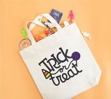 Easy trick or treat tote